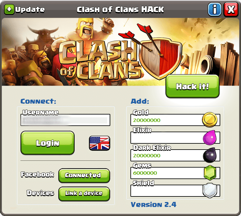 Clash of Clans hack tool for iOS Android