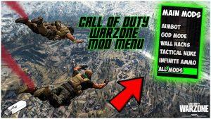 Call of Duty Warzone mod menu hacks