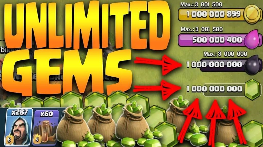 Clash of Clans mod menu trainer hacks