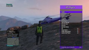 Epsilon GTA V mod menu trainer