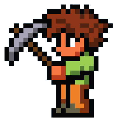Terraria player character