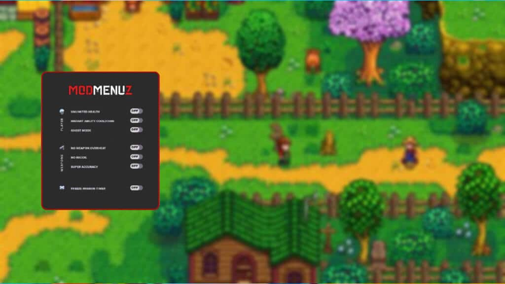 Stardew Valley trainer cheat for PC